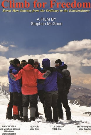 Climb for Freedom DVD cover