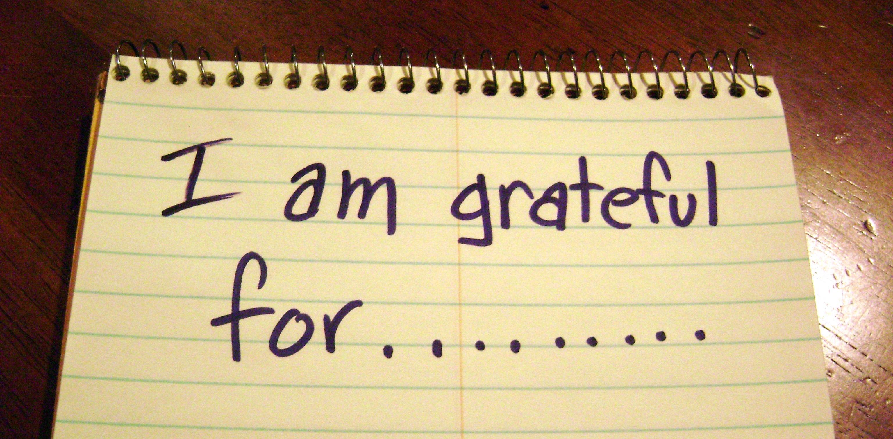 I am grateful for image